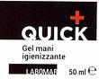 Quick piu' gel igienizzanti mani 50 ml