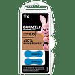 Duracell easy tab 675 blu batteria per apparecchio acustico