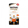 Rayovac batterie zinco ario modello 13 6 pezzi